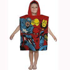 Marvel Comics Justice à capuche poncho serviette Nouveau Spiderman Hulk