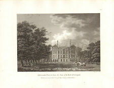 the seats of nobility & gentry 1787 - 1815 engraving of addescombe place. surry