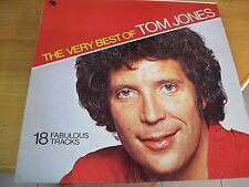TOM JONES THE VERY BEST  LP MINT--- EMI