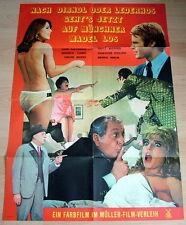 Beppo Brem NACH DIRNDL ODER LEDERHOS... original Kino Plakat A1