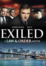 Exiled: A Law & Order Movie, DVD, Sam Waterston, Jerry Orbach, Benjamin Bratt, I