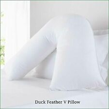 Luxury Orthopaedic Duck Feather Pillow For V Shape/Nursing/Maternity/Pregnancy