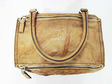 New Authentic Givenchy Pandora Small Crinkled Leather Shoulder Bag