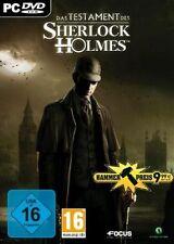 Das Testament des Sherlock Holmes Deutsch Neuwertig