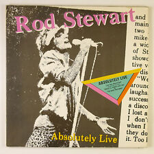 "2 x 12"" LP - Rod Stewart - Absolutely Live - B1801 - washed & cleaned"