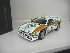 1:18 Kyosho LANCIA 037 Rally Rallye 1985 WM Portugal Biasion Totip Jolly Club #4