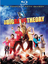 The Big Bang Theory: The Complete Fifth Season (Blu-ray Disc, 2012, 3-Disc Set)