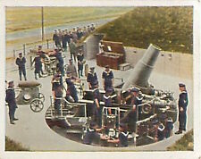 Coastal battery Flanders North Sea Kaiserliche Marine WWI WELTKRIEG 1914 CHROMO