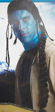 New Avatar Jake Sully Warrior Indian Pirate Witch Doctor Jungle Long Braid j13