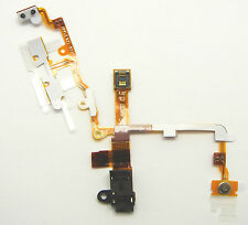 Apple iPhone 3g 3gs conector auriculares un de cable flex mudo interruptor POWER Mute