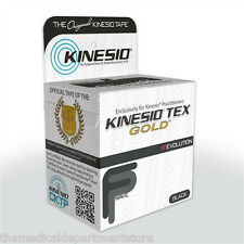"Kinesio Tex Gold Tape -  2"" Black"