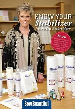 NEW! Know Your Stabilizer for Perfect Embroidery, by Debbie Homer-Hofhines DVD