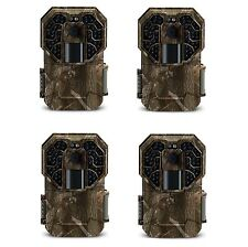 Stealth Cam 14MP IR No Glo Infrared Scouting Game Trail Camera (4 Pack) | G45NG