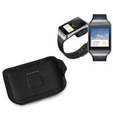 Charging Dock Cradle Charger Adapter For Samsung Galaxy Gear Live SM-R382 Black