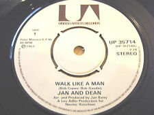 "JAN & DEAN - WALK LIKE A MAN  7"" VINYL"