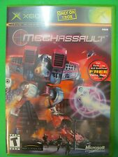 XBOX MECHASSAULT NTSC LIVE GAME With Manual. Online Enabled