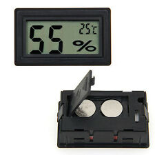 Newly Car Auto Indoor Mini Digital LCD Thermometer Hygrometer Humidity Meter