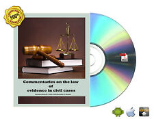 Commentaries on the law of evidence in civil cases Volume 1 - 5 Books On CD