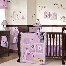 Lambs & Ivy Garden Safari 5pc Crib Bedding Set