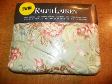RALPH LAUREN-NEW IN PKG-Charlotte IV-TWIN FITTED Sheet -100% COTTON-DEEP POCKET