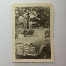 ✇ Originalfoto NSU FIAT Weinsberg 500 Limousette 1950er-Jahre