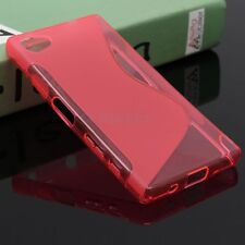 HOUSSE ETUI COQUE SILICONE GEL ROSE SONY ERICSSON XPERIA Z5 COMPACT
