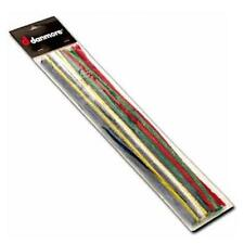 24 PREMIUM EXTRA LONG TOBACCO PIPE CLEANERS - COTTON COVERED 300mm