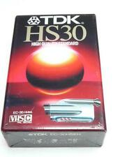 TDK HS30 VHS-C Blank Camcorder Tape EC-30HSEH - New In Sealed Pack