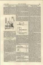 1897 De Ridder Flue Gas Sampling Apparatus