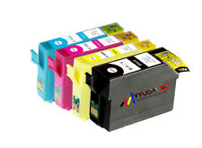 10 Epson Compatible T1401-4 T140 Ink for WF 3520 WF3530 workforce3520 3530 7520