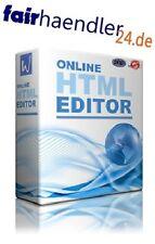 WFR ONLINE EDITOR HTML easy simpel einfach NP:13,90€ TOOL SOFTWARE NEU E-LIZENZ