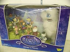 Rudolph the Red Nose Reindeer Bumble and Friends Figure Set
