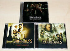 3 CD SAMMLUNG - THE LORD OF THE RINGS - SOUNDTRACK HOWARD SHORE - HERR DER RINGE