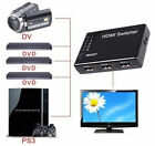 5 PORT HDMI Switch Selector Switcher Splitter Hub & IR Remote 1080p For HDTV PS3