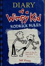 Rodrick Rules (Diary of a Wimpy Kid, Book 2)  (ExLib)