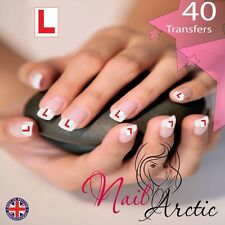 Hen Party Learner Nail Art Sticker Water Decals Transfer Stickers Tips x 40