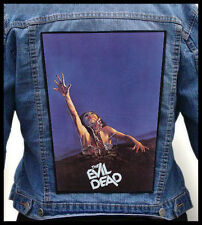 EVIL DEAD --- Giant Backpatch Back Patch / Classic 80's Horror Gore S-Mart