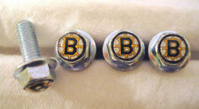 Boston Bruins License Plates Screws, Boston Bruins Logo Plate Screws, Bruins