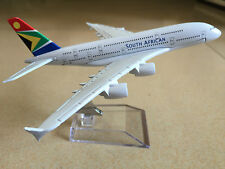 SOUTH AFRICAN AIRBUS A380 Passenger Airplane Plane Alloy Metal Diecast Model C