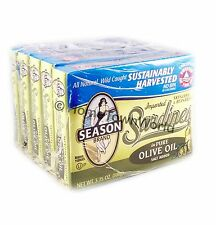 Season Skinless and Boneless Sardines in Olive Oil, 5/3.75 oz (Pack of 5) SEALED