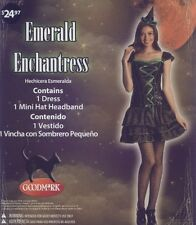 Witch Emerald Enchantress Halloween Costume Hat Headband Adult Large SZ 12-14 BN