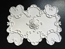 "CP69 Ceiling Panel 11 3/8"" x 8 5/8"" Plaster RepliCast Miniatures Dolls House"