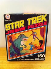 1970's Star Trek Puzzles, Spock and Dinosaur, Kirk and Spock