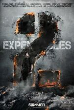 THE EXPENDABLES 2 - 13.5x20 PROMO MOVIE POSTER