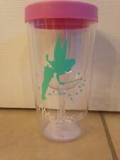Disney Tinkerbell Inspired Personalized wine to go Tumbler Fish Extender Gifts