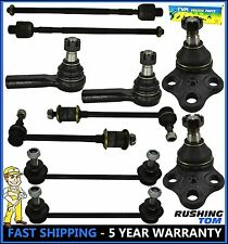 10 Pc Kit Sway Bar Tie Rod Ball Joint For Nissan Pathfinder Infiniti Qx4 96-04