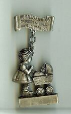 Goebel Hummel Expo Morning Stroll Pewter pin Sunglo© signed by Denicolo