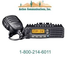 ICOM IC-F5121D-56, VHF 136-174 MHZ, 50 WATT, 128 CHANNEL IDAS MOBILE 2-WAY RADIO