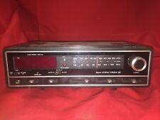 Vintage Retro SEARS COM/TREK II Clock AMFM Radio Snooze Headphone Jack
