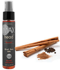 Cinnamon Oral Sex Gel Deep Throat Gag Relax Mouth Spray Comfort Enhance Blow Job